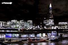 hidden war (tonewar) Tags: battleship london shard night lights