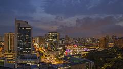 Singapore Cityscapes from Sky Lounge Peninsula Excelsior (gintks) Tags: gintaygintks gintks singapore singaporetourismboard sg51 bluehour sunset central cityscapes landscapes yoursingapore exploresingapore