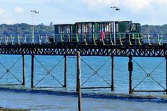 Hythe Pier Train (Hythe Eye) Tags: hythe hampshire southamptonwater hythepier pier train
