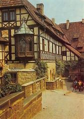 de_5702402 (Dirk Bohrig) Tags: postkarte postcrossing ddr wartburg eisenach thringen luther