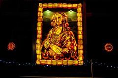 Da Vinci (wordsmith_Cornwall) Tags: monalisa uppercanadavillage morrisburgontario davinci pumpkininferno
