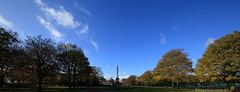 Wide angle of the cenotaph, Victoria Park, Widnes, Cheshire, England. (Barry Miller _ Bazz) Tags: sigma 12mm canon 5d mark3 lens victoria park widnes cheshire cenotaph wide angle