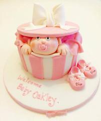 Baby Peek Cake