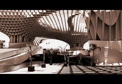 Metropol Parasol, plaza de la Encarnacion, Sevilla, Andalucia, Espana (claude lina) Tags: claudelina espana spain espagne andalucia andalousie ville city town sevilla sville architecture metropolparasol