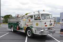 Mack Fire Truck (Trucks, Buses, & Trains by granitefan713) Tags: truck bigtruck bigrig showtruck cabover coe antiquetruck vintagetruck classictruck mack macktruck firetruck antiquefiretruck