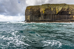 Staffa, Scotland. (Ian Emerson) Tags: staffa scotland island prehistoric ice atlantic heritage landscape ocean sea rock formation volcanic basalt natural outdoor cave baron uninhabited omot