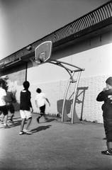 (kinetics) (Dinasty_Oomae) Tags: bolsey  bolseyb2 b2  blackandwhite bw monochrome outdoor  tokyo   setagayaku setagaya komazawa komazawaolympicpark    basketball