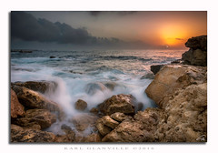 """Jerma"" seascape sunrise (glank27) Tags: sunrise marsascala malta seascape karl glanville silky stream water sea canon eos 70d efs f3556 1585mm rocks rocky beach sky colours peace ngc"