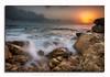 """Jerma"" seascape sunrise (glank27) Tags: sunrise marsascala malta seascape karl glanville silky stream water sea canon eos 70d efs f3556 1585mm rocks rocky beach sky colours peace ngc"