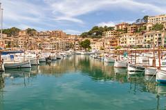 Port de Sller (z w a e n) Tags: portdesller mallorca spanien spain balearic marina travel
