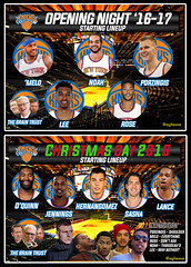 Time for Another Season of Garbage New York Knicks Basketball (Coachie Ballgames) Tags: new york knicks another disaster opening night roster starting lineup christmas day inactive list carmelo melo kristaps porzingis derrick rose joakim noah courtney lee phil jackson jeff hornacek jim dolan kyle oquinn brandon jennings sasha lance thoma nba basketball madison square garden city