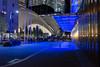 Neighborhood (wwward0) Tags: 3worldtradecenter 4worldtradecenter 7worldtradecenter blue fidi financialdistrict manhattan night nyc oculus outdoor park street worldtradecenter