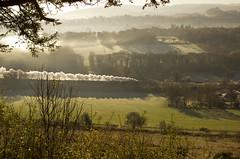 WC no.34046 'Braunton' (alts1985) Tags: wc no34046 braunton bob no34052 lord dowding the cathedrals express steam dreams main line ranmore common surrey winter 291116