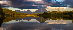 Oxbow Bend Sunrise (gyutaekc) Tags: oxbowbend photography nature colors morning early light sunrise reflection water mt moran gtnp grand tetons teton national park outdoor serene mountain landscape lake summer 2016 wyoming