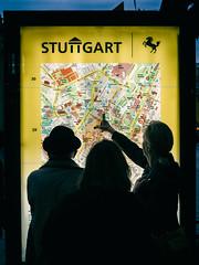 Old Skool (Al Fed) Tags: 20161008 52weeks challenge street streetphotography stuttgart old skool people searching map evening
