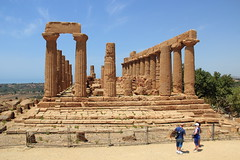 Temple of Hera (harve64) Tags: agrigento sicily italy ancientruins greek temple archaeology museum hera
