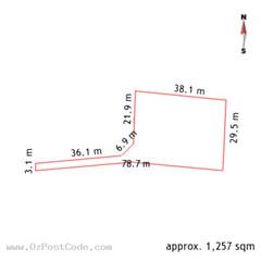 23 Brophy Street, Fraser 2615 ACT land size