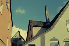 (eflon) Tags: roofline rooves lines muted tones chimney angles