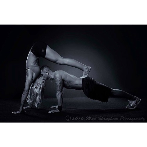 We did a few in the studio shots while Wesley and Kelsey were here. Darn that girl is athletic!