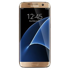 Samsung Galaxy S7 Edge Factory Unlocked Phone 32 GB - Internationally sourced (Asia) version  G935FD- Platinum Gold (goodies2get2) Tags: amazoncom samsung