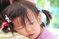 Sleeping Cutie (Dimi Alexeev) Tags: sleeping kid girl twintails portrait headshot peacefully cute cutie
