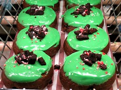 Mint Fudge Brownie Donut, Tim Horton, Oakville Place, Oakville, ON (Snuffy) Tags: mintfudgebrowniedonut timhorton oakvilleplace oakville ontario canada food dessert
