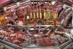 Bilbao, Spain - inside the 'Mercado de la Ribera' (campese) Tags: bilbao spain españa basque elpaisvasco berneo bergara sansebastian sansebastián bermeo vitoriagasteiz vitoria donostia santander guggenheim burgos bayonne mungia durango eibar elgoibar elgeta arrasate getxo gernika guernica gaztelugatxe seaside txacoli frankgehry jeffkoon maman louisebourgeois spider statue hdr titanium instagram pinterest panoramio canon powershot g9