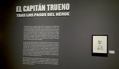 El Capitán Trueno. Tras los pasos del héroe (ciudad imaginaria) Tags: madrid exposición capitántrueno tebeos comics cómics círculodebellasartes víctormora