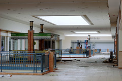 Long Walk ([jonrev]) Tags: abandoned mall 2016 vacant empty dead shopping center indoor retail failure urban exploring urbex carson pirie scott carsons department store