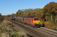 67018 Sharnbrook (Gridboy56) Tags: dbschenker db class67 67024 67018 keithheller rhtt sharnbrook bedfordshire england europe uk railways railroad railfreight trains train toton locomotive locomotives westhampstead