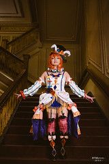Nishikino Maki ( ) (btsephoto) Tags: cosplay costume play  animefest afest anime convention dallas texas sheraton hotel fuji fujifilm xt1 yongnuo yn560 iii flash portrait majestic theatre nishikino maki   love live  circus fujinon xf 23mm f14 r lens