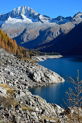Diga Malga Bissina (federicaputti) Tags: diga trento malga bissina lake mountain nature nikon photography autumn colors
