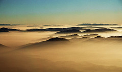 Evening view from Tolsti vrh - Slovenia (Urko Burko) Tags: ngc wow slovenija hills fog shadows gorgeous amazing