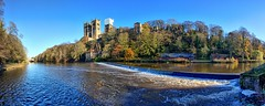 Durham Panorama (jasjo) Tags: easyhdr efs1855mm hdr canon500d cathedral sky tree outdoor durham river water panorama denoise projects