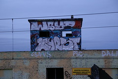 Winter in Pispala (Thomas_Chrome) Tags: graffiti streetart street art spray can wall walls fame gallery hof pispala tampere suomi finland europe nordic legal chrome rooftop
