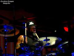 Frank Ferrer - Guns N' Roses (CP XIV) Tags: drums frank ferrer guns n roses gnr tourlife tour notinthislifetime lights