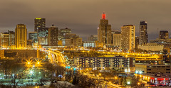 St. Paul (Mike Plucker) Tags: st paul stpaul minnesota night nightphotography citiscape