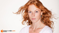 Marieke (Victor van Dijk (Thanks for 4M views!)) Tags: mariekeverduijn ringlight ringblits ringflash elinchrom quadra eco woman girl female model portrait ginger redhead red hair orange freckles fav fave faved favorite
