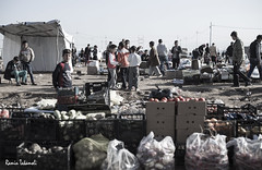 Market (ramintakamoli) Tags: war children kids refuges isis iraq fight kurdistan yazidi people portrait yizadi outdoor clothes rain day refugees