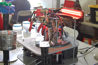 Photos from the Quelab camera of the Albuquerque mini Maker Faire 2015 Day 2