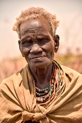 Dassenech Tribe, Omerate, Ethiopia (Rod Waddington) Tags: africa portrait man male river town beads african traditional valle tribal valley warrior afrika omovalley ethiopia tribe ethnic ethnicity villager afrique ethiopian omo etiopia subsistence dassanech omerate