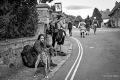 A Dog and His Man (mickyates) Tags: street leica england blackandwhite bw dog man heritage history monochrome outdoor hiking weekend candid 28mm sunny august q wiltshire 116 avebury outstanding lightroom 2015 f17 tonality outstandingshots