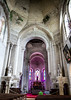 Once visitied by Joan of Ark. Loches Cathedral, France (williamsalison31) Tags: france church prayer praying cathdral loches