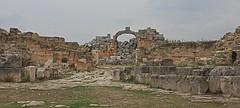 Nymphaeum and fountain, Apamea, Syria (susiefleckney) Tags: apamea syria hama ghabplain seleucid roman byzantine arab ruins archaeology ancient nymphaeum fountain westernasia