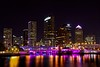 Iconic View (EL_KAB0NG) Tags: longexposure urban canon tampa downtown canonef1740mmf4lusm nightphotos hillsboroughriver hillsboroughcounty canoneos50d