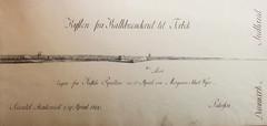 Kalkbrnderiet og Taabk (Rigsarkivet - Danish National Archives) Tags: history drawing maritime calligraphy naval