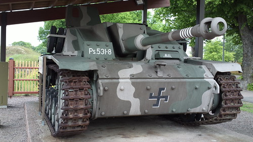 "Ps.531-8 Stug III tank destroyer ""Aili"""