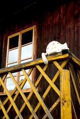 Maskotka (Hejma (+/- 5400 faves and 1,7 milion views)) Tags: street daylight poland polska woodenhouse smalltown światło historichouse ulica miasteczko światłocień chairscuro domdrewniany domzabytkowy landckorona