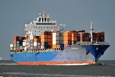 HS Bizet (Bernhard Fuchs) Tags: water boat nikon ship ships cargoships vessel cargo schiff elbe schiffe cuxhaven containerschiffe frachtschiffe