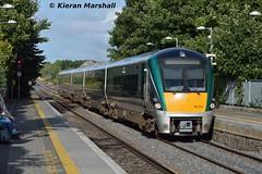 22031 arrives at Portlaoise, 23/9/15 (hurricanemk1c) Tags: irish train rail railway trains railways irishrail rok rotem portlaoise 2015 22031 icr iarnród 22000 éireann iarnródéireann premierclass 5pce 1600heustoncork